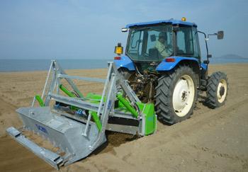Macchine Pulisci Spiaggia per Trattori